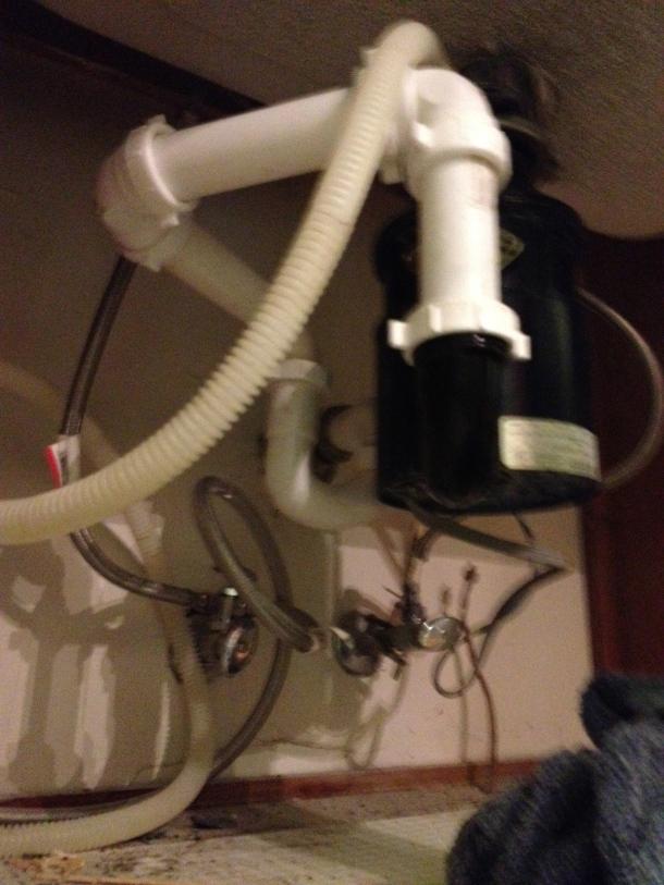 new plumbing (HA!)